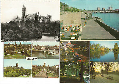 8 Postcards From  Scotland, Glasgow,