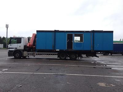 Container - Portable Building - Generator - Hiab Delivery Nationwide/European