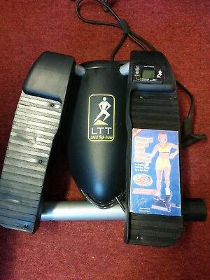 Lateral Thigh Trainer with Advanced Lateral Thigh Trainer Workout VHS video