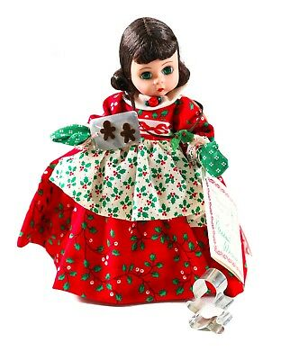 "Madame Alexander ""Lil Christmas Cookie 341 Doll w/ Box"