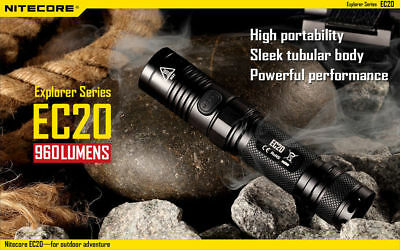 New Nitecore Ec20 960 Lumens Explorer Led Flashlight