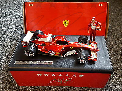 Michael Schumacher 6 times and 7 times worldchampion scale 1/18 neu von sammlung