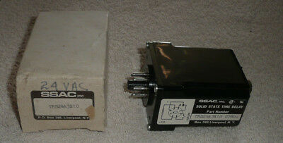 NEW SSAC TRS Series Time Delay Relay TRS24A 3X10 0780s