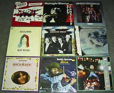 "36 x 12"" Vinyl LP * ROCK * PROG * POP * SONGWRITER * CLASSICS * 60's-80's * L@@K"