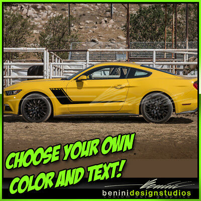 2015 /& up Ford Mustang GTSaleen Style Fender Stripes 2016 2018 2019