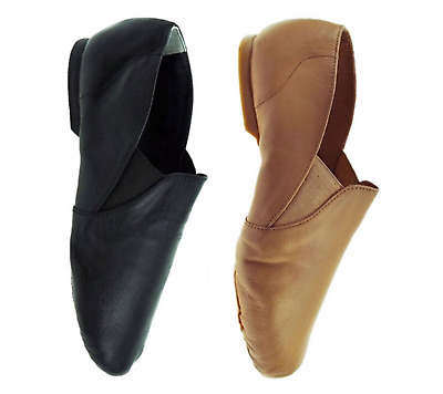 Black or Tan Starlite Active Slip on jazz shoes  - all sizes