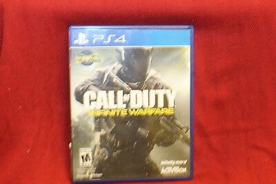 Call of Duty Infinite Warfare PS4 Zombies Sony PlayStation 4 NO MAP NO SCRATCHES