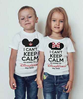 Going to Disney girls / boys T -shirt /disneyland/Disney world/childrens t-shirt