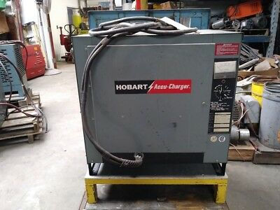 Hobart Accu-Charger  # 600C3-240 Industrial Battery Charger  Forklift Charger