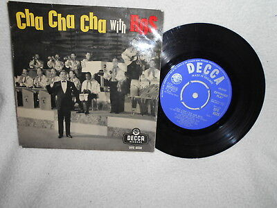 """7"""" Ep Edmundo Ros And His Orch. -- Cha Cha With Ros"""