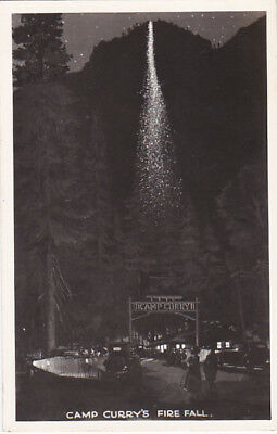 RP: Fire Fall , Camp Curry , YOSEMITE , California , 30-40s