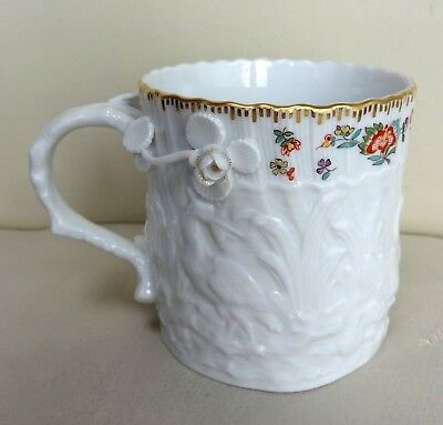 Very Rare & Perfect, Limited Edition of 100, Meissen Swan Service Mug