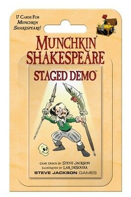 Munchkin Shakespeare - Staged Demo
