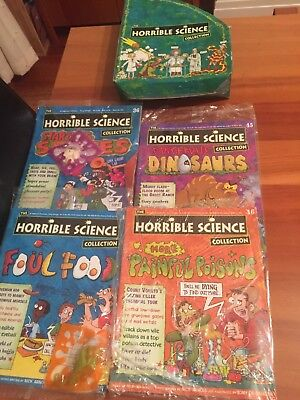 horrible science comic books never opened