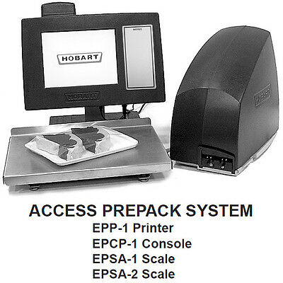 Brand New Hobart Epsa-1 Stand Alone Scale.  Part Of Hobart Access Prepack System