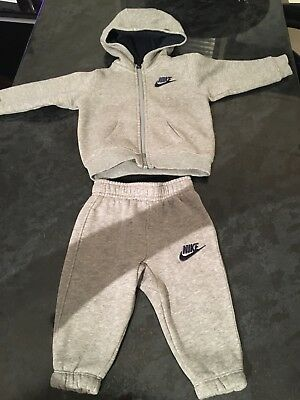 Baby Nike Tracksuit 6-9 Months. Excellent condition.