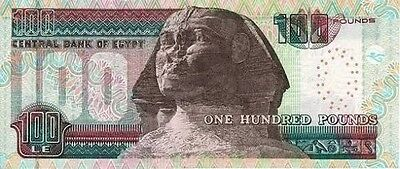 100 Egyptian Pounds note Uncirculated Brand new with Free Post