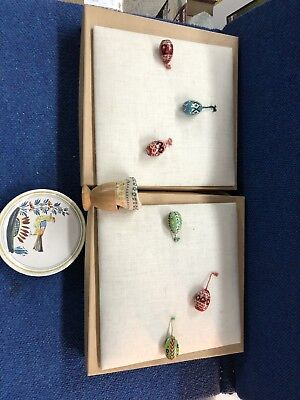 Lot of Miscellaneous Vintage Decorative Chicken Egg Pieces - Newark Museum