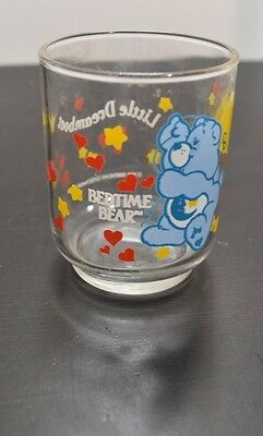 Vintage Care Bear Glass Cup