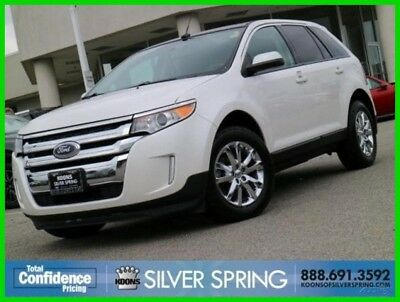 2013 Ford Edge SEL 2013 SEL Used 3.5L V6 24V Automatic FWD SUV