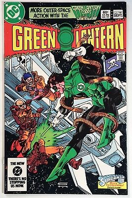 GREEN LANTERN #168 VF, Gil Kane Battle Cover, Holiday GL Auction Combined Ship!