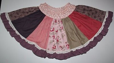 Persnickety Pretty in Pink Paige Skirt Girls Size 10 - EEUC