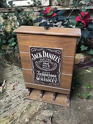 Old Jack Daniels Wooden  Display Box