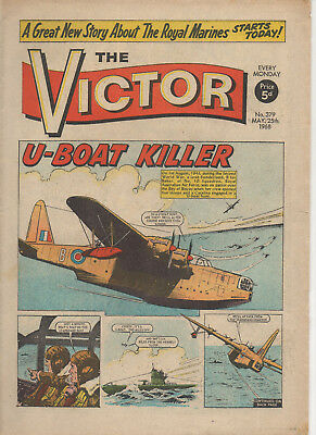 The Victor 379 Fine+ 25Th May 1968 Dc Thomson Silver Age Uk Comic