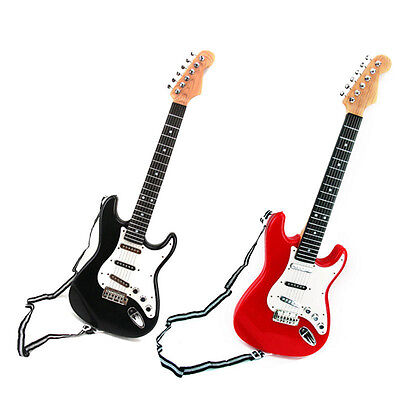Children Musical Gift with Strap 6 Strings Kids Simulation Electric Guitar Toys