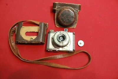 EARLY VERY RARE GELTO DIII CAMERA GRIMMEL 1:4 5F 50MM No 103021 W/CASE