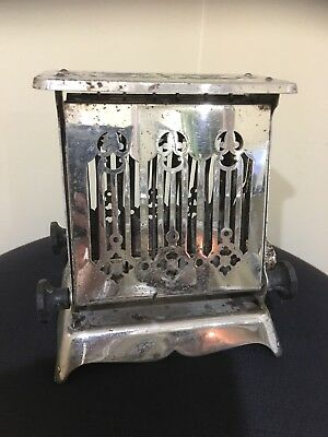 Antique 1910 Edison Electric Appliance Co. HOTPOINT Toaster !!!!