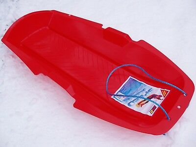 Snow Sledge Largest For Kids & Adults Plastic With Rope