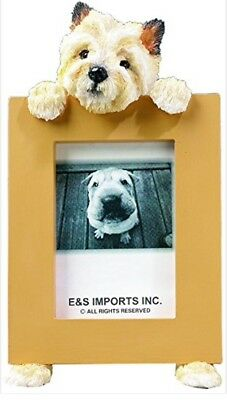 NIB! E&S Imports PETS Cairn Terrier Picture Frame Animal Gift Dog Lover