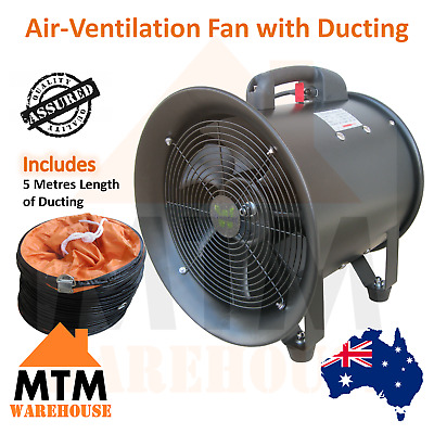 8'' 12'' 24'' inch Ventilation Inline Air Fan 200mm 300mm 600mm with 5m Ducting