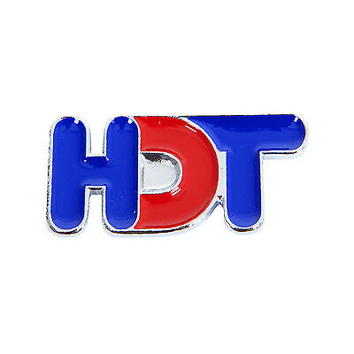 GENUINE HDT VK GRILLE BADGE 35mm –  RED & BLUE SUIT DIRECTOR BROCK COMMODORE