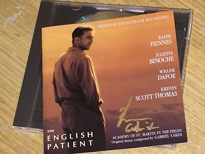 The English Patient Soundtrack Signed By Oscar Winning Composer Gabriel Yared