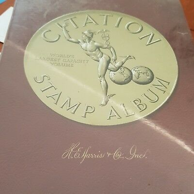 citation stamp album