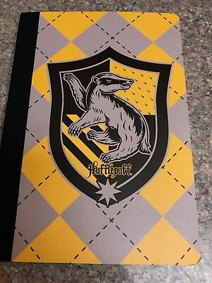 Harry Potter Hufflepuff Journal Notebook Primark New Hardcover Harry Potter