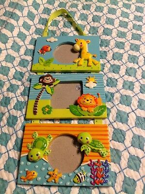 Fisher Price Precious Planet Trifold Frame Photo Rare New