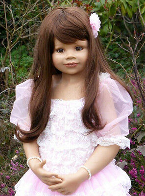"""Masterpiece Dolls Jillian Brown Wig, Fits Up to 19"""" Head, Doll Not Included."""