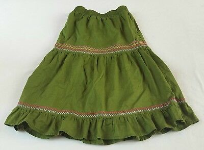Girls Everyday Gymboree Skirt Knee-Length Olive Green in Girls Size 7
