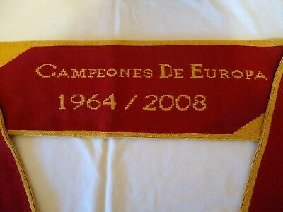 Spain  Official Licensed Campeones De Europa Adidas Scarf New