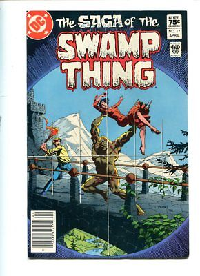 Saga Of The Swamp Thing #12 Hi Grade Action Packed Cover Canadian Price Variant