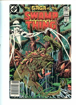 Saga Of The Swamp Thing #14 Hi Grade 9.0 Stunning Cover Canadian Price Variant