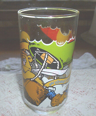 Vintage McDonald's Glass THE GREAT MUPPET CAPER THE GREAT GONZO 1981 6in. 12 oz.