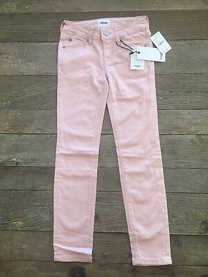 NWT Hudson Skinny Sateen Jeans Youth Size 7 Pink
