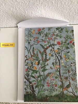 Gucci New Collection Catalog Blooms Hard Cover Bound Book Catalogue New Only1