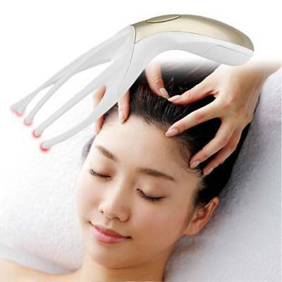 Household Mini Multifunctional Electric Head Massager Portable Massage Comb