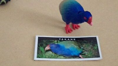 YOWIE Series 1.  TAKAHE with info paper + Toy Collectible