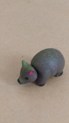 Cadbury YOWIES, Series 1  WOMBAT, toy collectible, NO info paper, 1997